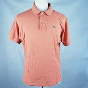 Mens LACOSTE Collar Cotton Polo Shirt Golf Casual